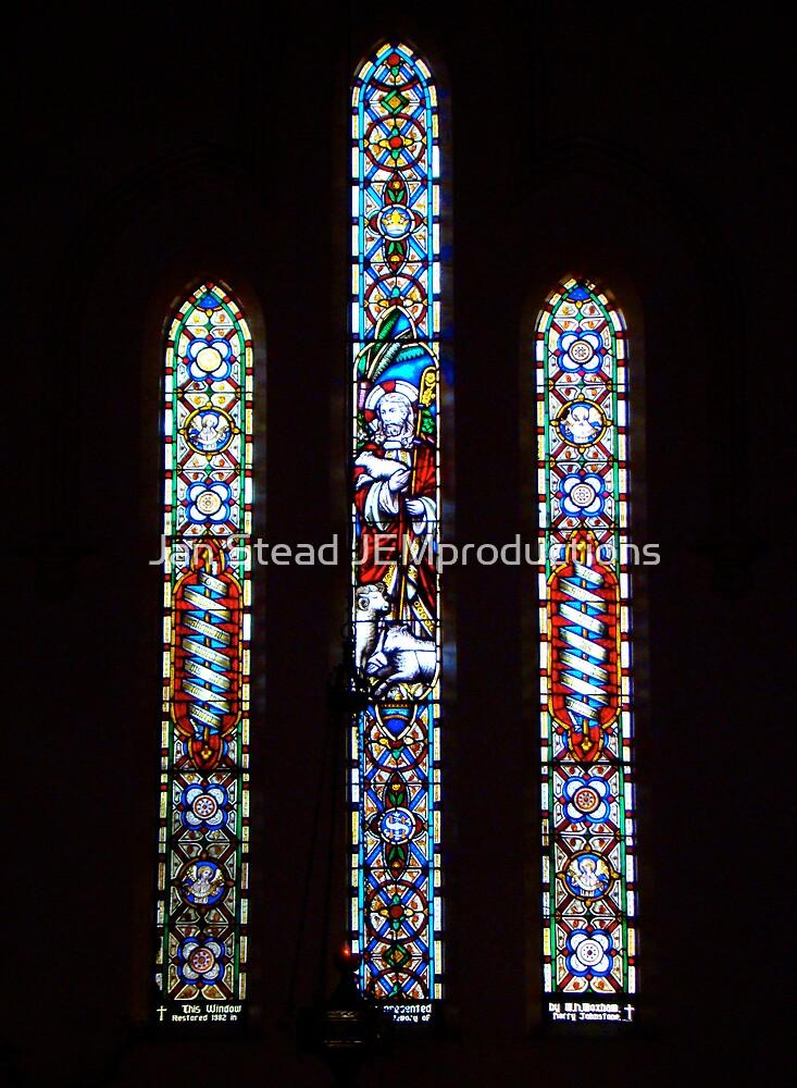 sanctuary window st john's by Jan Stead JEMproductions