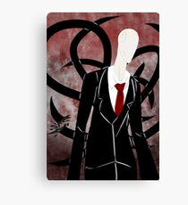 The Slenderman Canvas Print
