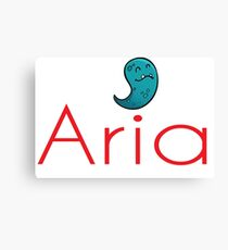Inspired by The Color of Money / Name Aria Canvas Print