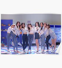 Twice Heart Shaker Group Photo Poster