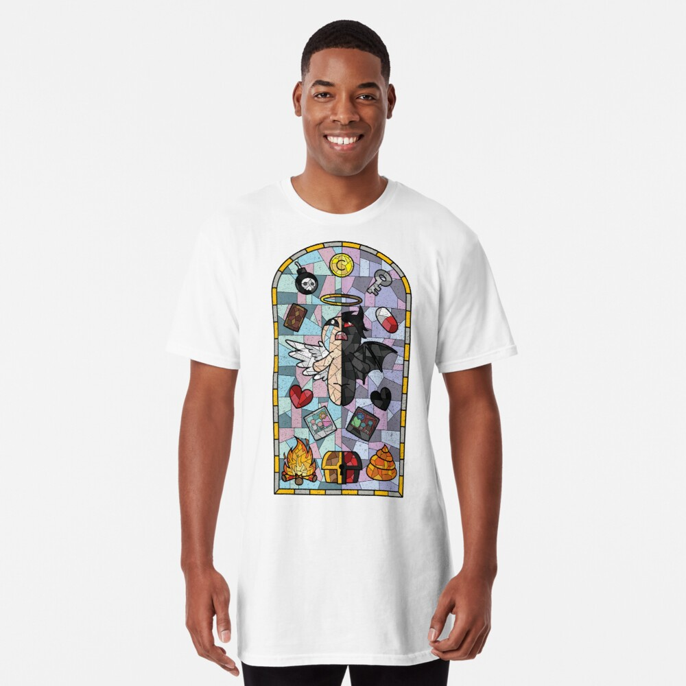 """""""The Binding Of Isaac, Cathedral Glass"""" T-shirt By Spilu"""