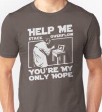 Help Me Stack Overflow Youre Myo Nly Hope Custom Gildan Men Tshirt SA87 New Product Unisex T-Shirt