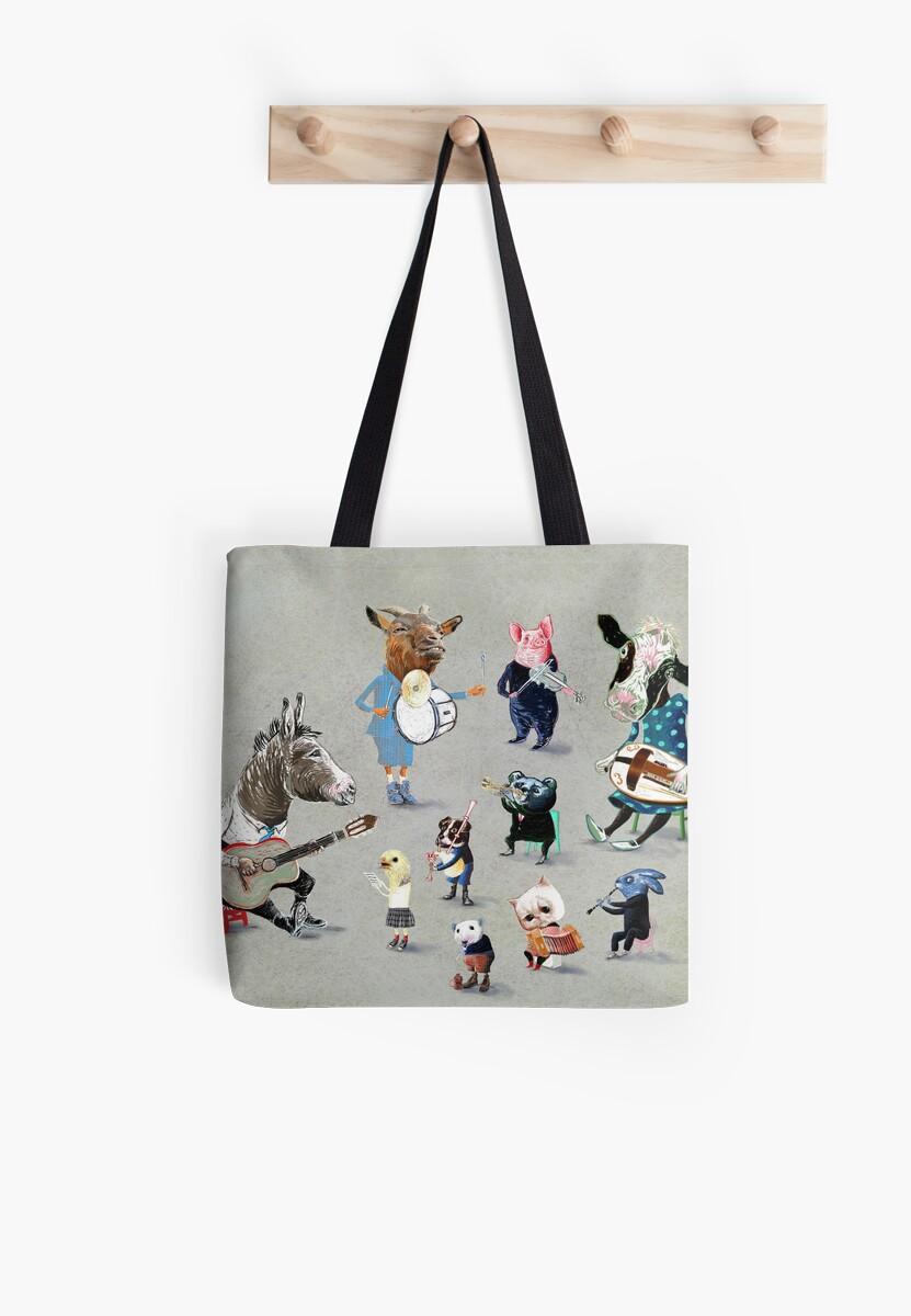 Animals into folk by Roetski
