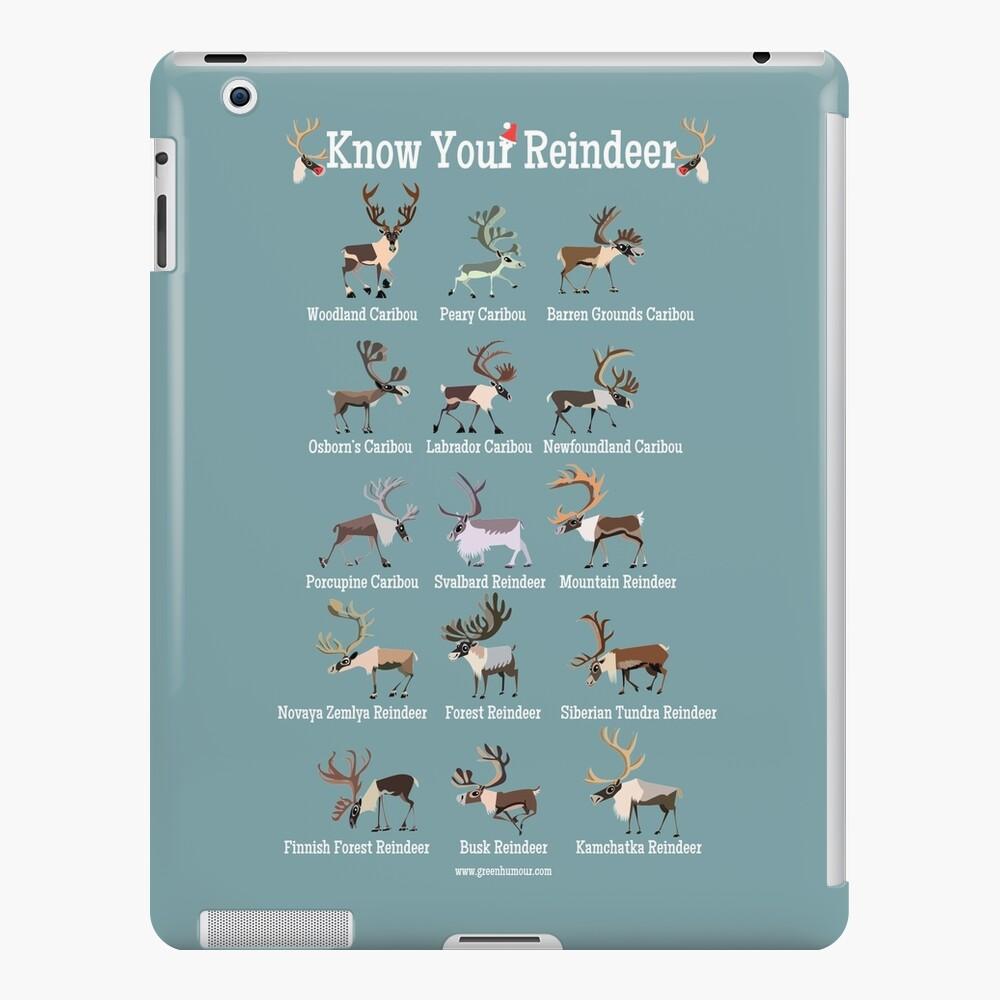 Know Your Reindeer iPad Case & Skin