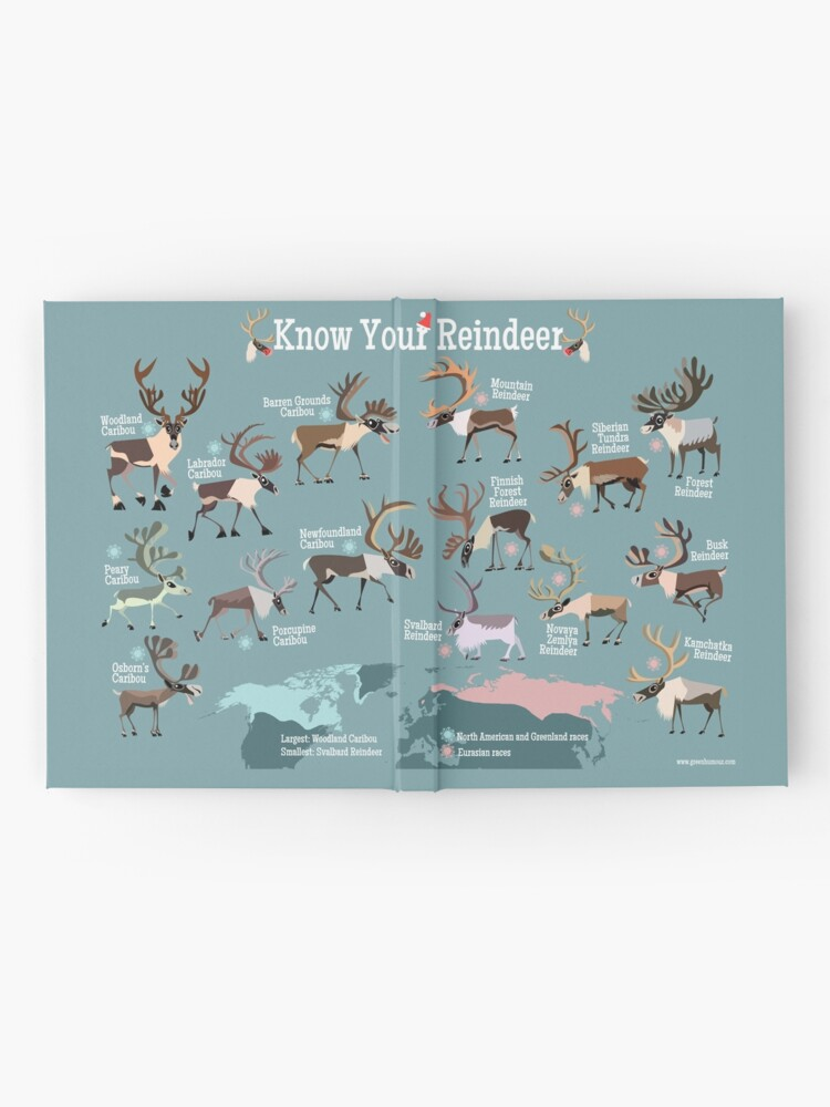 Alternate view of Know Your Reindeer Hardcover Journal