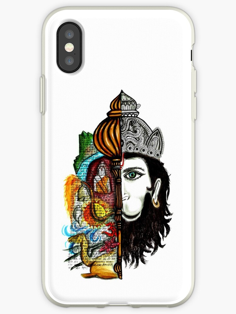 'Lord Hanuman' iPhone Case by Apurva Suvarna
