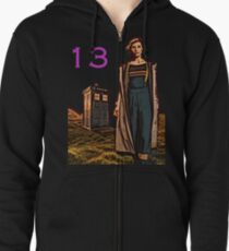Doctor Who - 13th Doctor  Zipped Hoodie