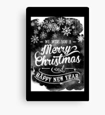 Holiday design - Christmas Canvas Print
