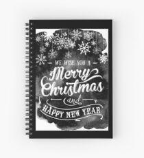 Holiday design - Christmas Spiral Notebook