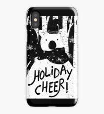 Holiday Design - Winter: Holiday Cheer iPhone Case