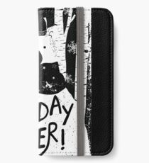 Holiday Design - Winter: Holiday Cheer iPhone Wallet/Case/Skin