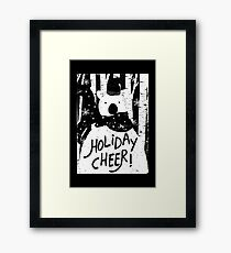 Holiday Design - Winter: Holiday Cheer Framed Print