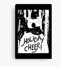 Holiday Design - Winter: Holiday Cheer Canvas Print