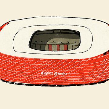 #Allianz #Bayern #Munich by Matty723