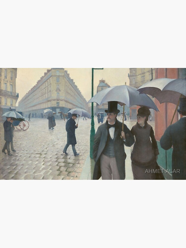 Gustave Caillebotte - Paris Street; Rainy Day by motionage