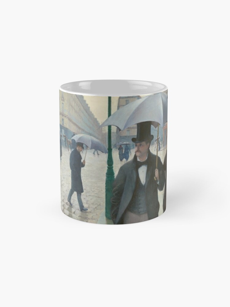 Alternate view of Gustave Caillebotte - Paris Street; Rainy Day Mugs