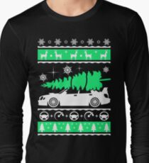 Subaru Impreza Car Ugly Christmas Shirt, Perfect Xmas gift for driver Long Sleeve T-Shirt