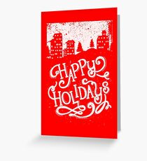 Holiday design - winter themed, Christmas Greeting Card