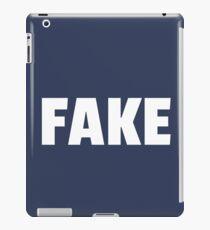Fake, Sarcasm, Sarcastic, Ironic  iPad Case/Skin