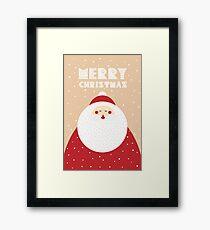 Holiday design - Christmas theme Framed Print