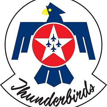 Thunderbirds - USAF Elite Flying Squardon by FoxCreek