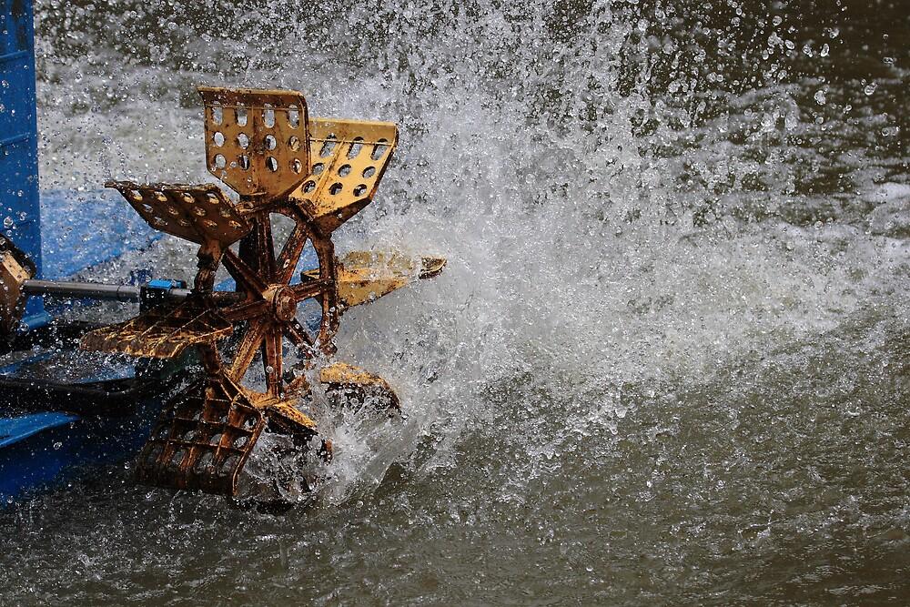 water wheel by Yakmeister