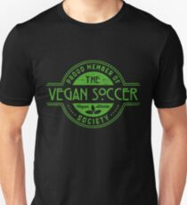 Vegan Soccer Athlete Society Club Member Gift Unisex T-Shirt