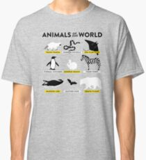 Animals of the world Classic T-Shirt