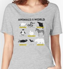 Animals of the world Women's Relaxed Fit T-Shirt