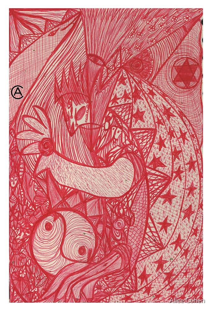 Magic dragon by Alice Cohen