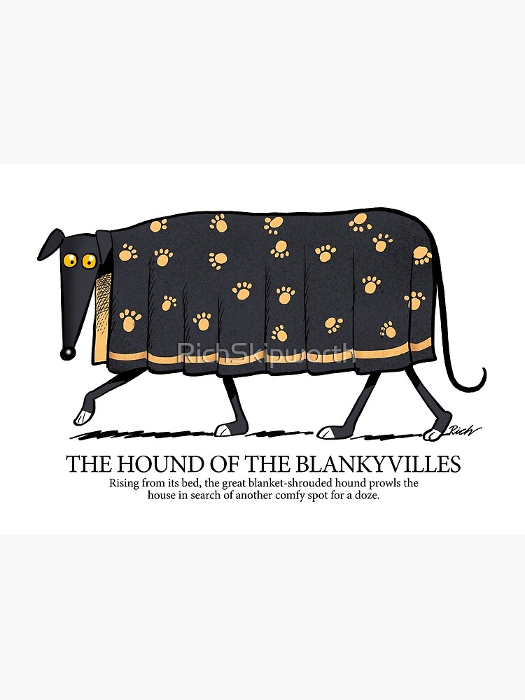 Hound of the Blankyvilles with caption by RichSkipworth
