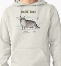 Anatomy of a Maine Coon Pullover Hoodie