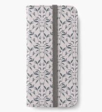 Life Cycle of a Butterfly - Dusty Pink iPhone Wallet/Case/Skin