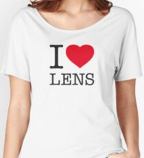 I ♥ LENS Women's Relaxed Fit T-Shirt