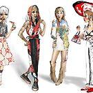 Fashion illustrations 2 by illustratedyou