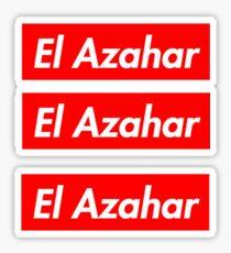 El Azahar Supreme Stickers (x3) Sticker