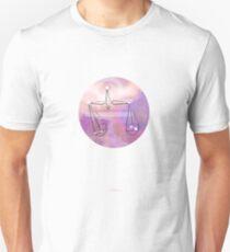 Libra horoscope symbol astrology Unisex T-Shirt