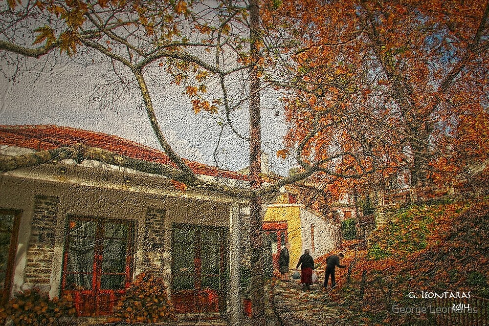 Ag. Vlasios by George Leontaras