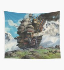 Where Is This Castle Going? Wall Tapestry