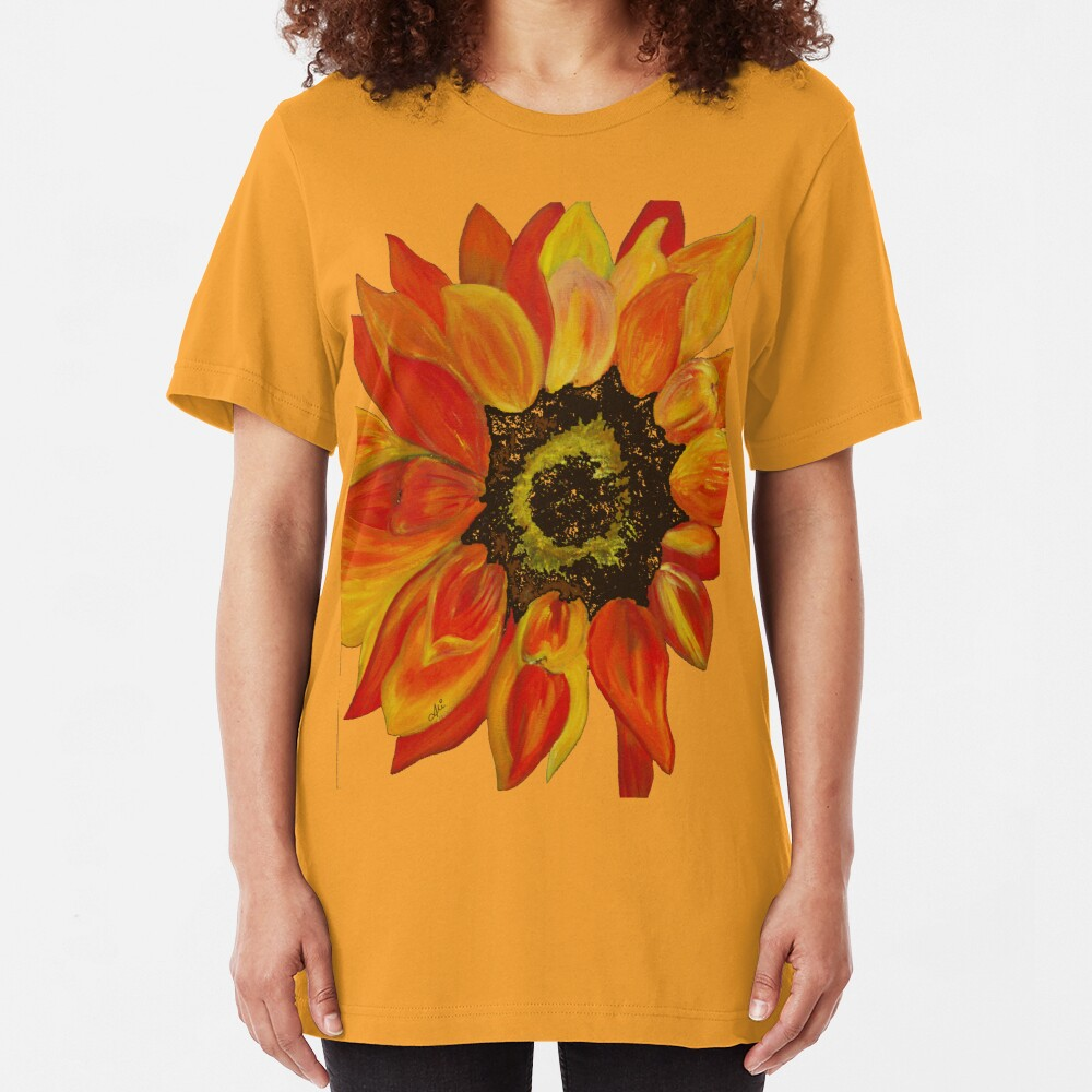 Sunflower Slim Fit T-Shirt
