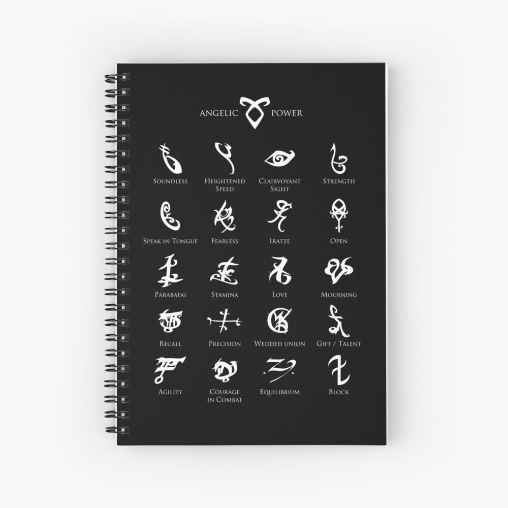 Runen-Karte Spiralblock