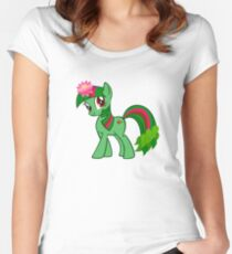 Ponysaur Women's Fitted Scoop T-Shirt