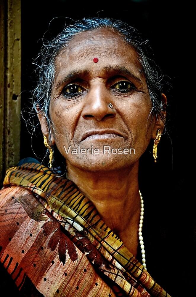 A Woman in Varanasi by Valerie Rosen