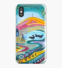 The Crows And The Wrekin - Boundary Way iPhone Case