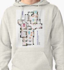 Apartments of Will Truman, Grace Adler and Jack MacFarland Pullover Hoodie