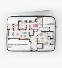 Apartments of Will Truman, Grace Adler and Jack MacFarland Laptop Sleeve