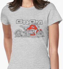 GROM Stance - Red Women's Fitted T-Shirt