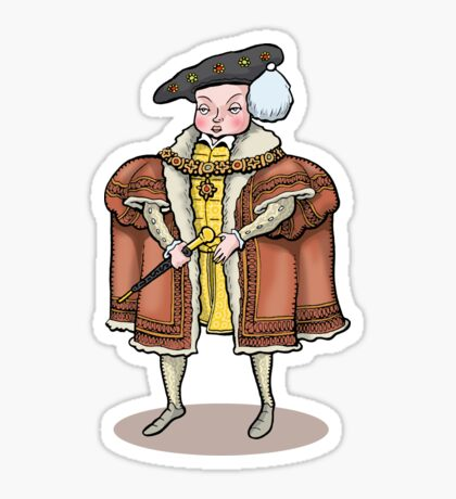 King Edward VI Sticker