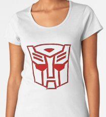 3D Transformers Logo - Autobot  Women's Premium T-Shirt