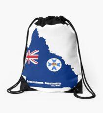 Queensland, Australia Drawstring Bag
